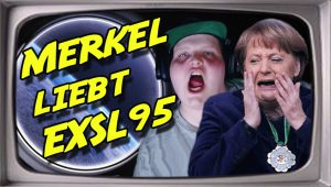Merkel liebt Exsl95 (Stupido schneidet) NEU!!!